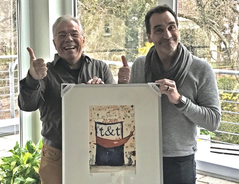 Bernd und Dirk Taglieber - 20 Jahre t&t